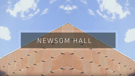Newsom hall abstract screenshot