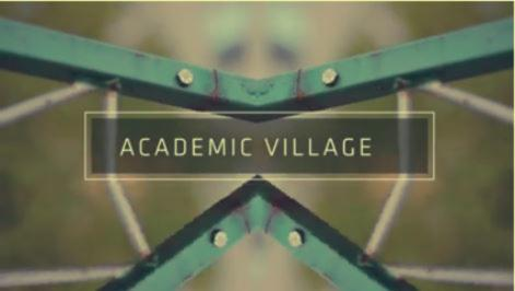 Academic Village abstract screenshot