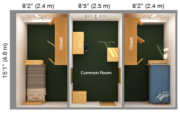 Community-Style Double Corner
