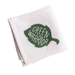 Green Warrior Hand Towel