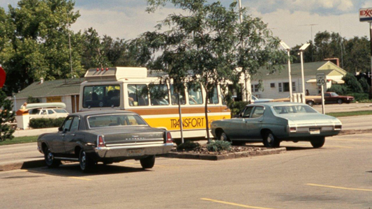 City of Fort Collins Transfort bus, c. 1970