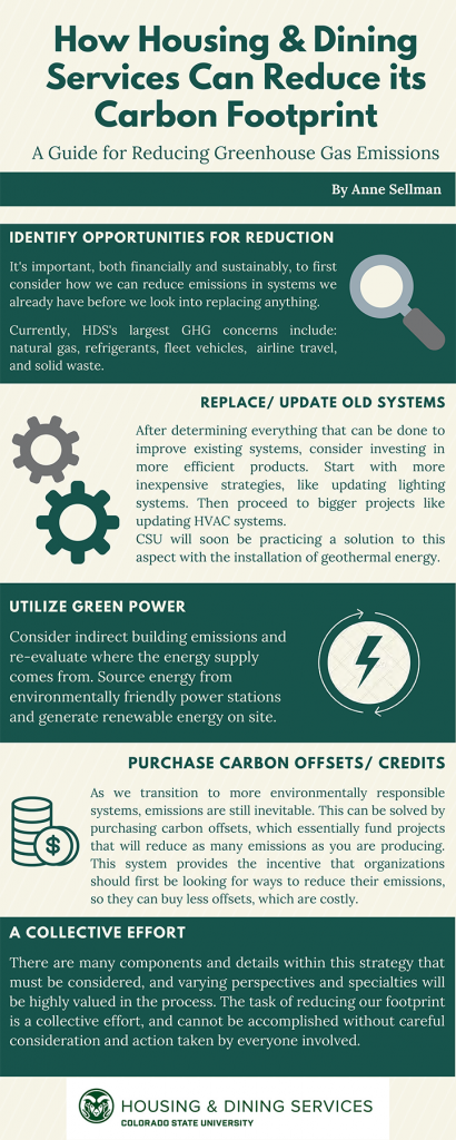 Carbon Footprint Reduction Infographic
