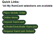 All my RamCard selections are available